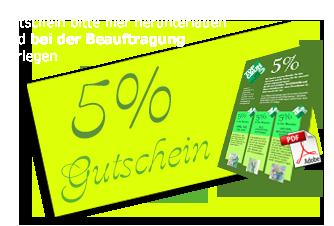 5% Jubiläumsgutschein