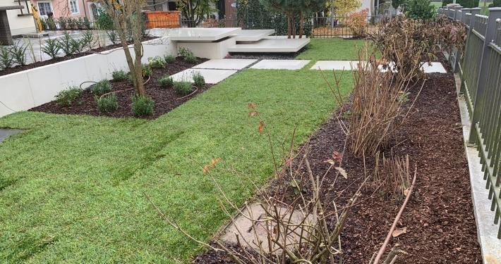 Modernisierung der Gartenanlage in Bad Birnbach in Niederbayern