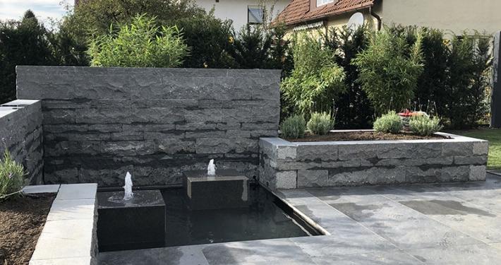 Neugestaltung eines Traumgartens in München