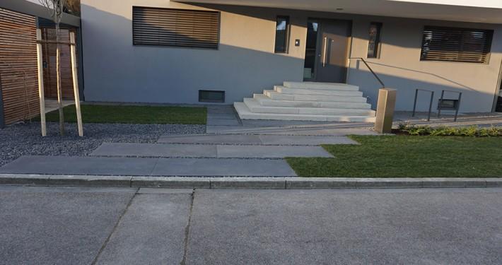Vorgarten-Neugestaltung Ingolstadt