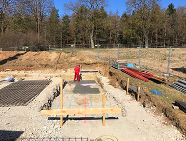 Baufortschritt. März 2017