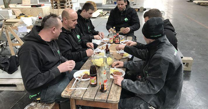 Garten Muenchen 2017. Der Aufbau.