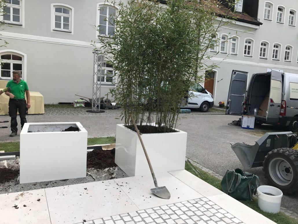 Gartentage FFB 2017 Aufbau