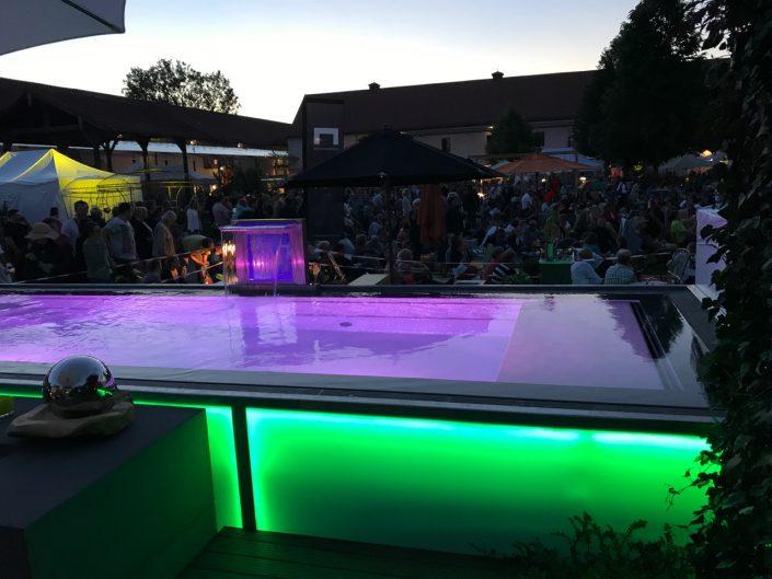 Gartentage FFB 2017 Poolanlage
