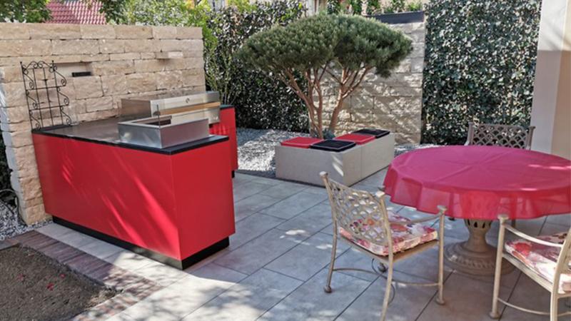 Outdoorküchen, Freiluftküchen